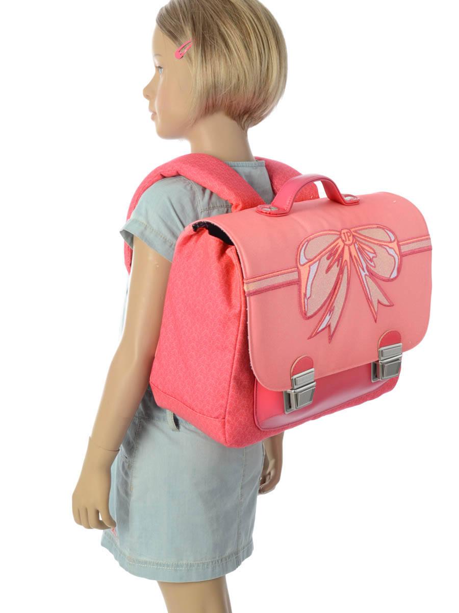 Школьный портфель для девочки Jeune Premier BOW Бант Midi, - фото 10