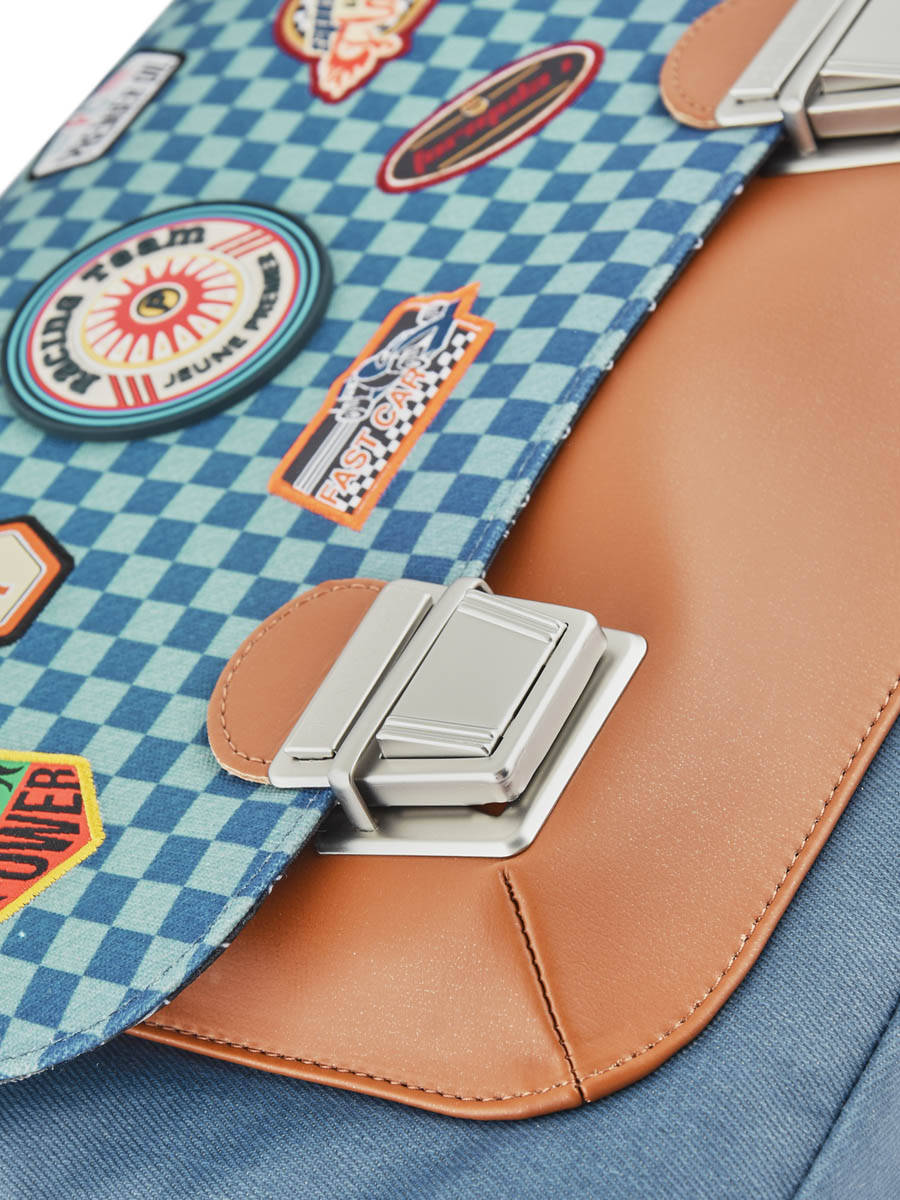 Школьный портфель для мальчика Jeune Premier Racing Midi Скорость, - фото 3