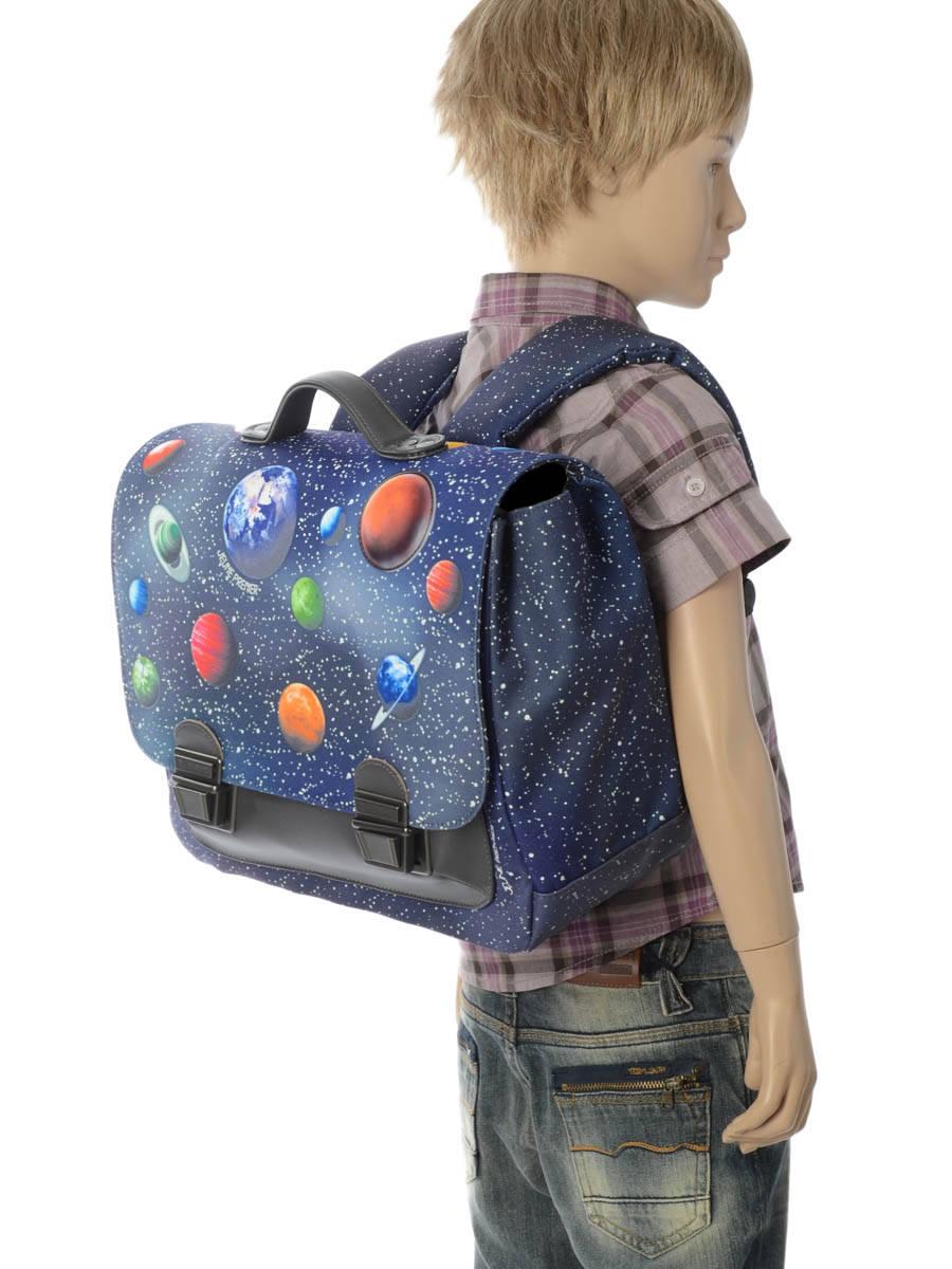 Школьный портфель для мальчика Jeune Premier Space Midi Космос, - фото 9
