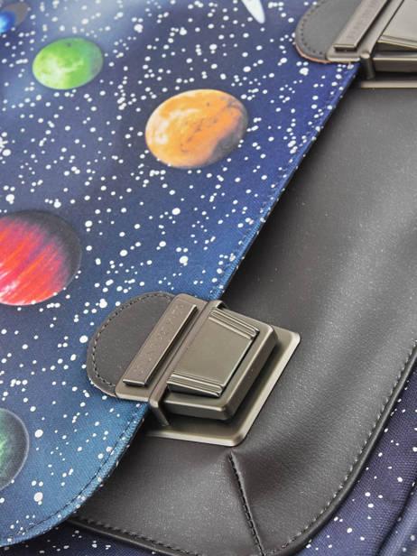 Школьный портфель для мальчика Jeune Premier Space Midi Космос, - фото 4