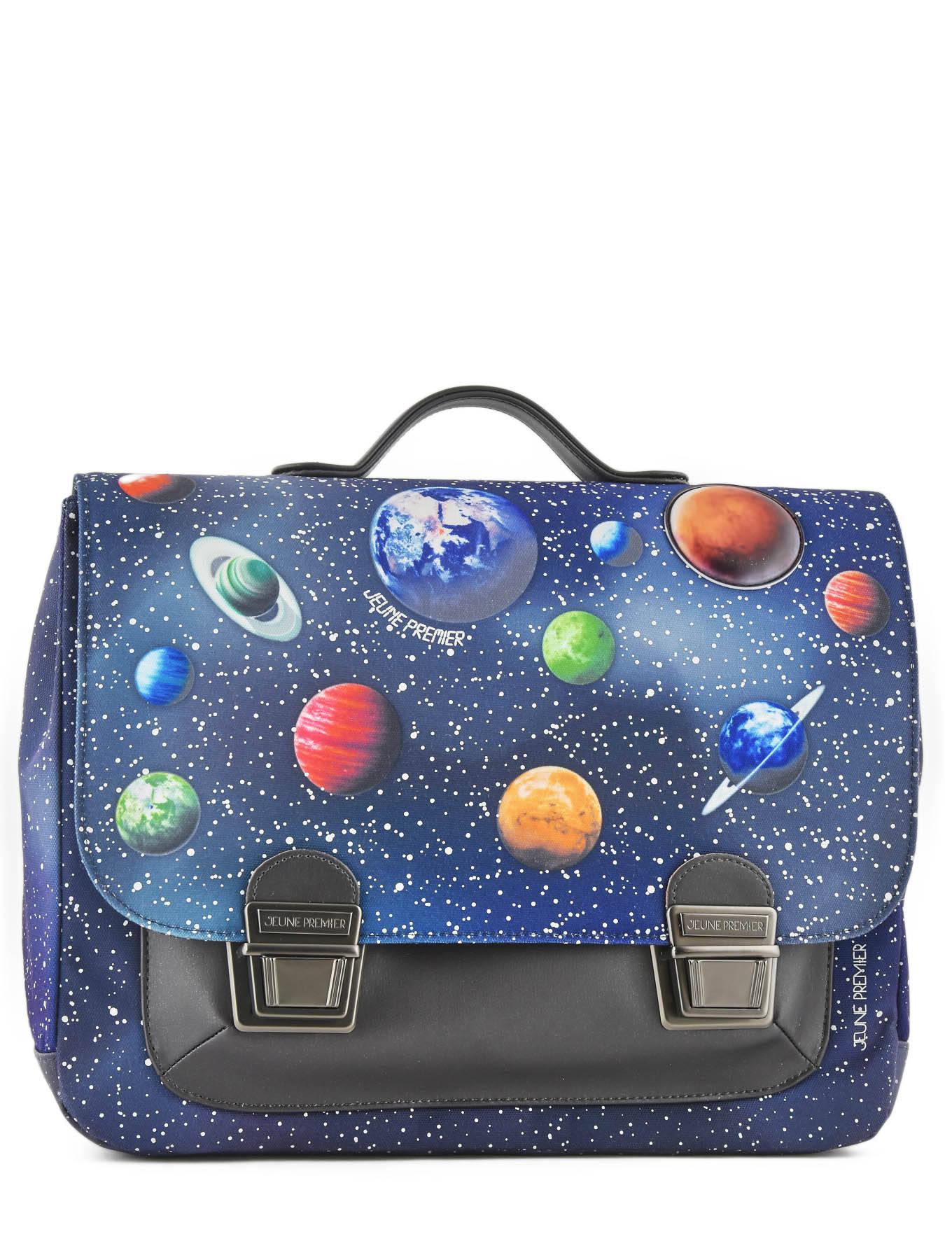 Школьный портфель для мальчика Jeune Premier Space Midi Космос, - фото 1