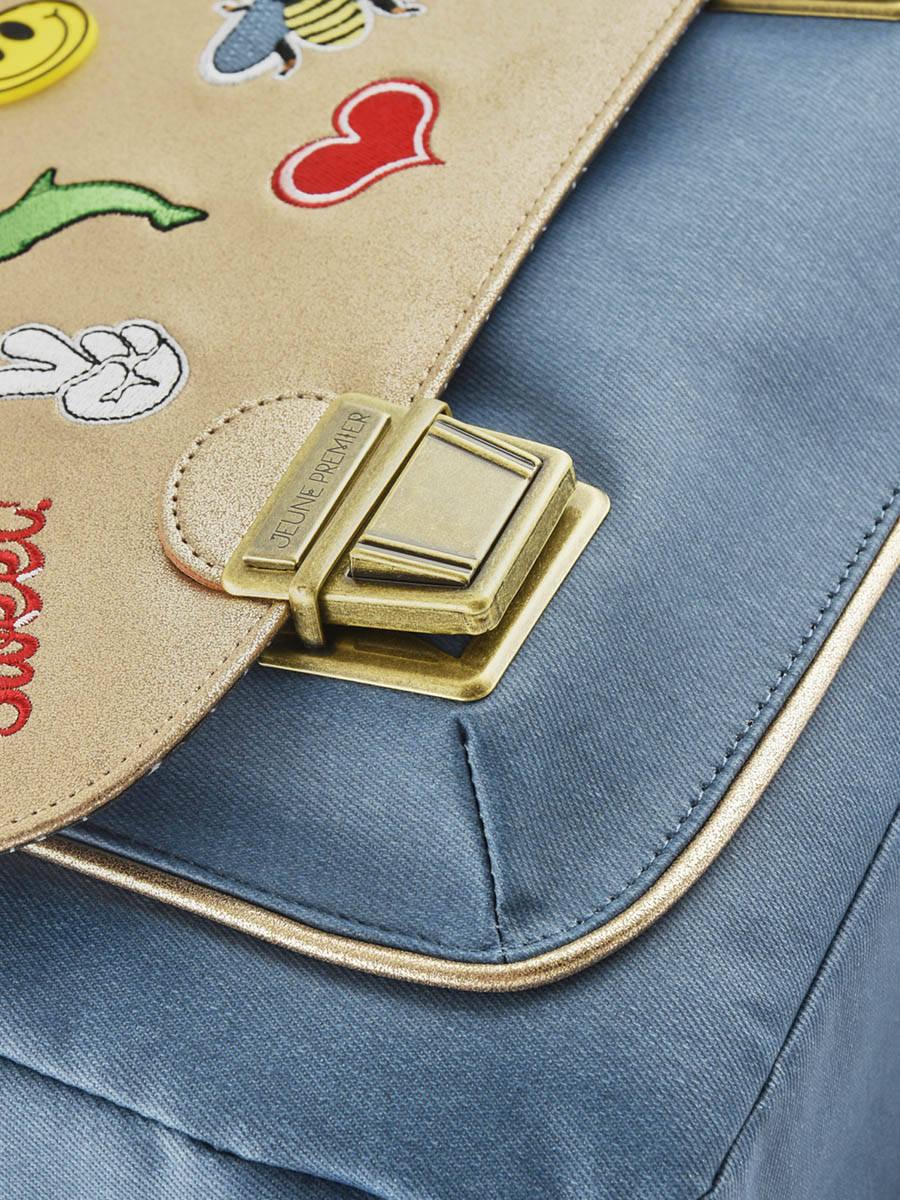 Школьный портфель для девочки Jeune Premier GOLDFUN Золото Midi, - фото 6