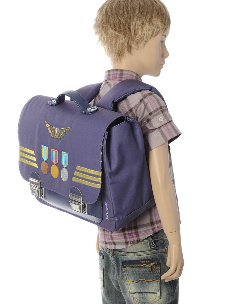 Школьный портфель для мальчика Jeune Premier Captain Midi Капитан, - фото 9