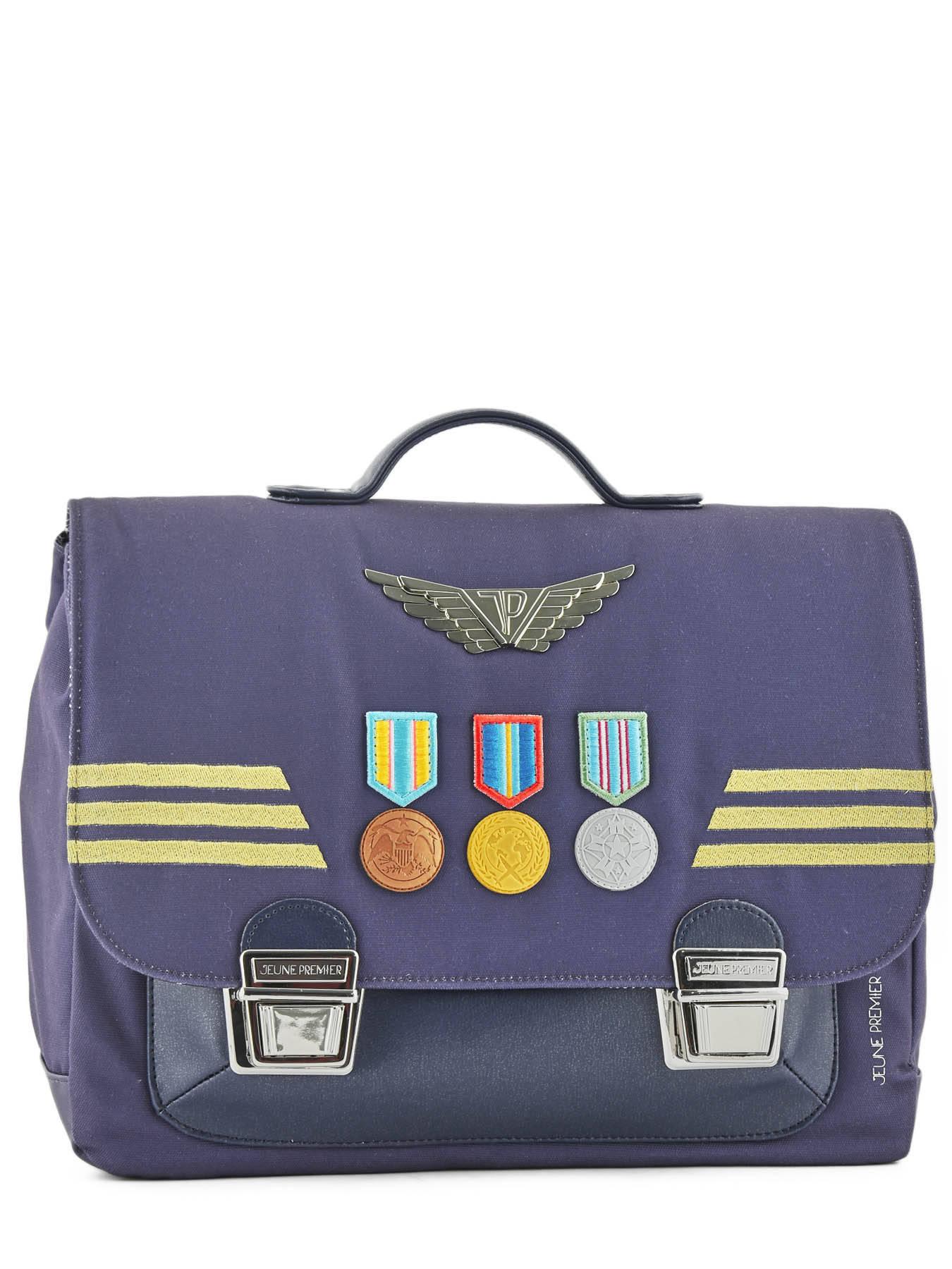 Школьный портфель для мальчика Jeune Premier Captain Midi Капитан, - фото 3