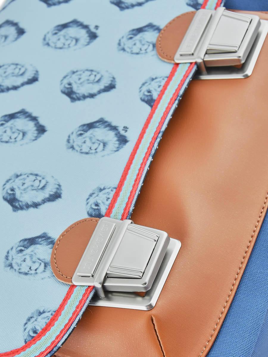 Школьный портфель для мальчика Jeune Premier Lion Midi Лев, - фото 10