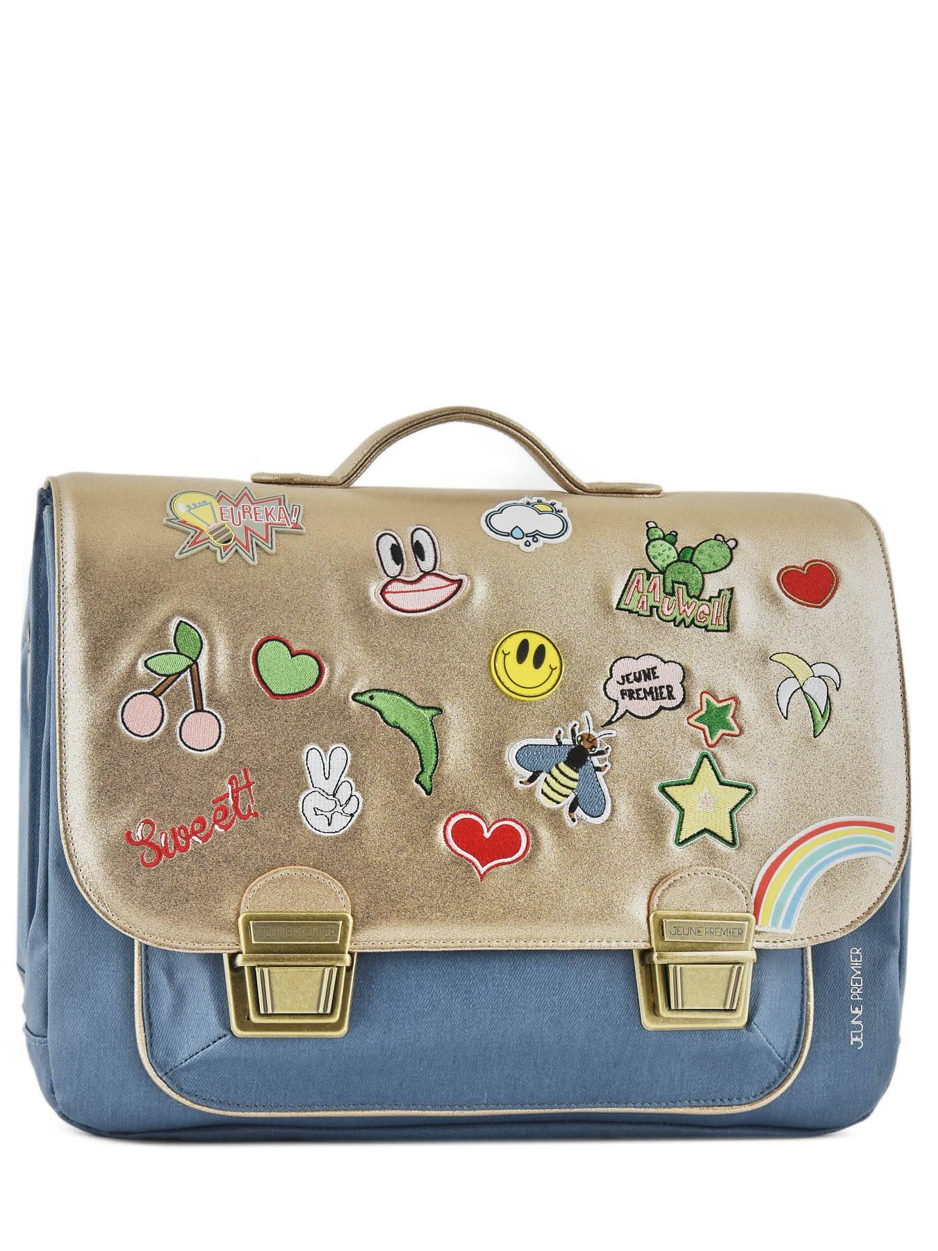 Школьный портфель для девочки Jeune Premier GOLDFUN Золото Maxi, - фото 3