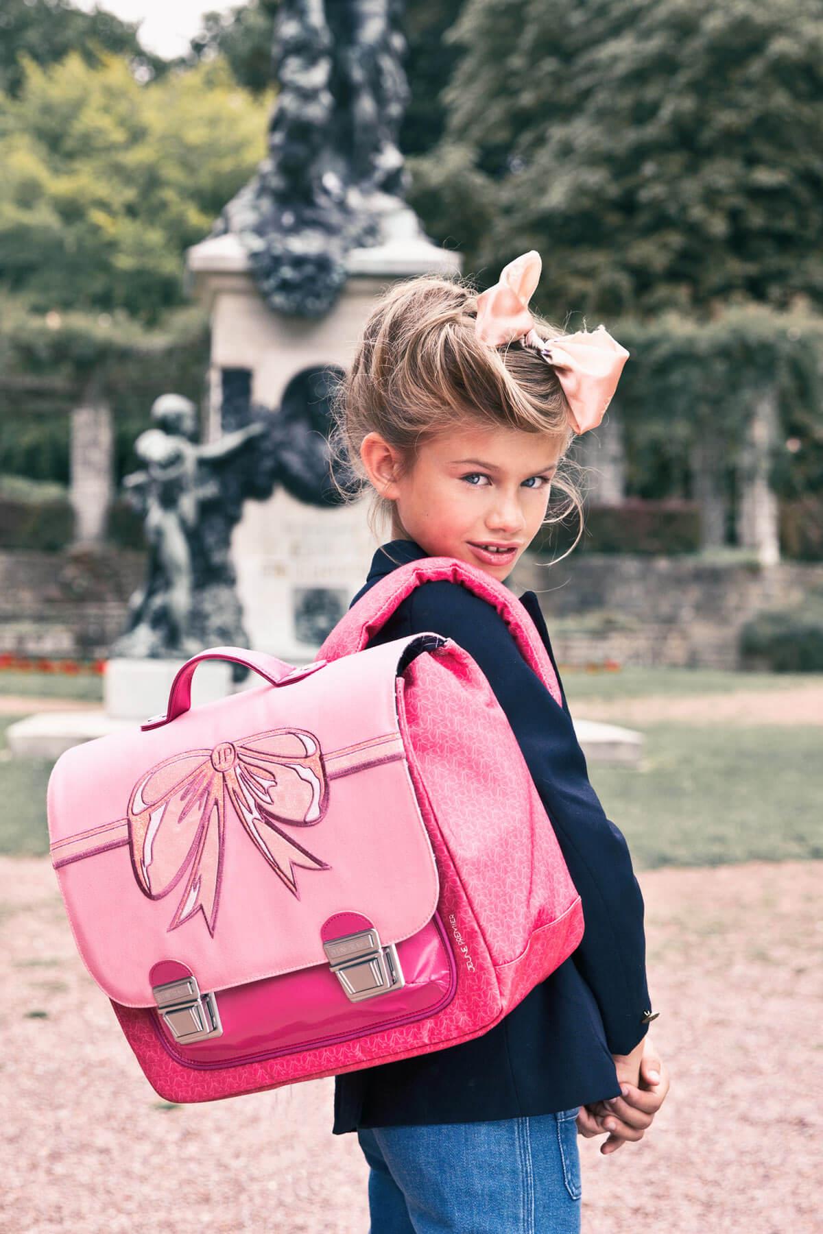 Школьный портфель для девочки Jeune Premier BOW Бант Midi, - фото 11