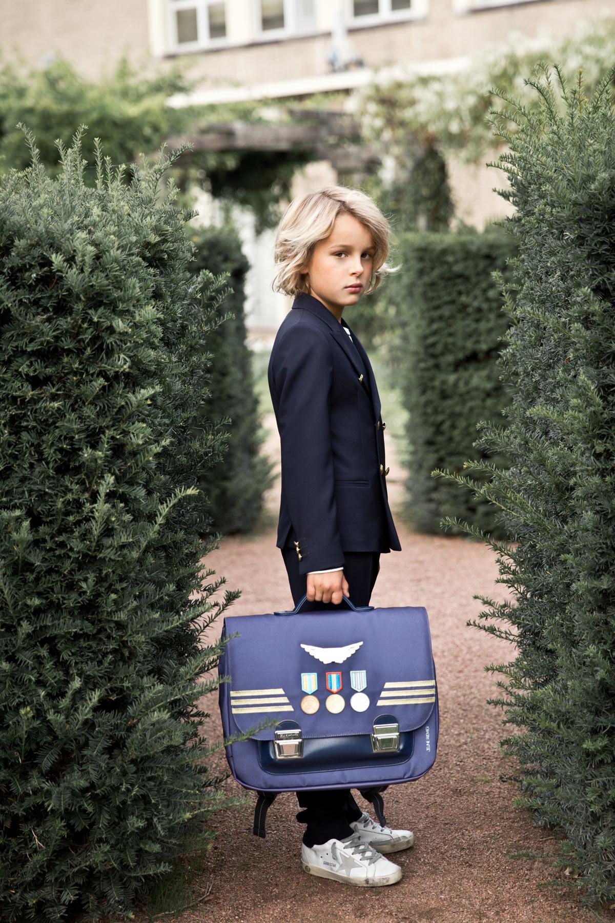 Школьный портфель для мальчика Jeune Premier Captain Midi Капитан, - фото 10