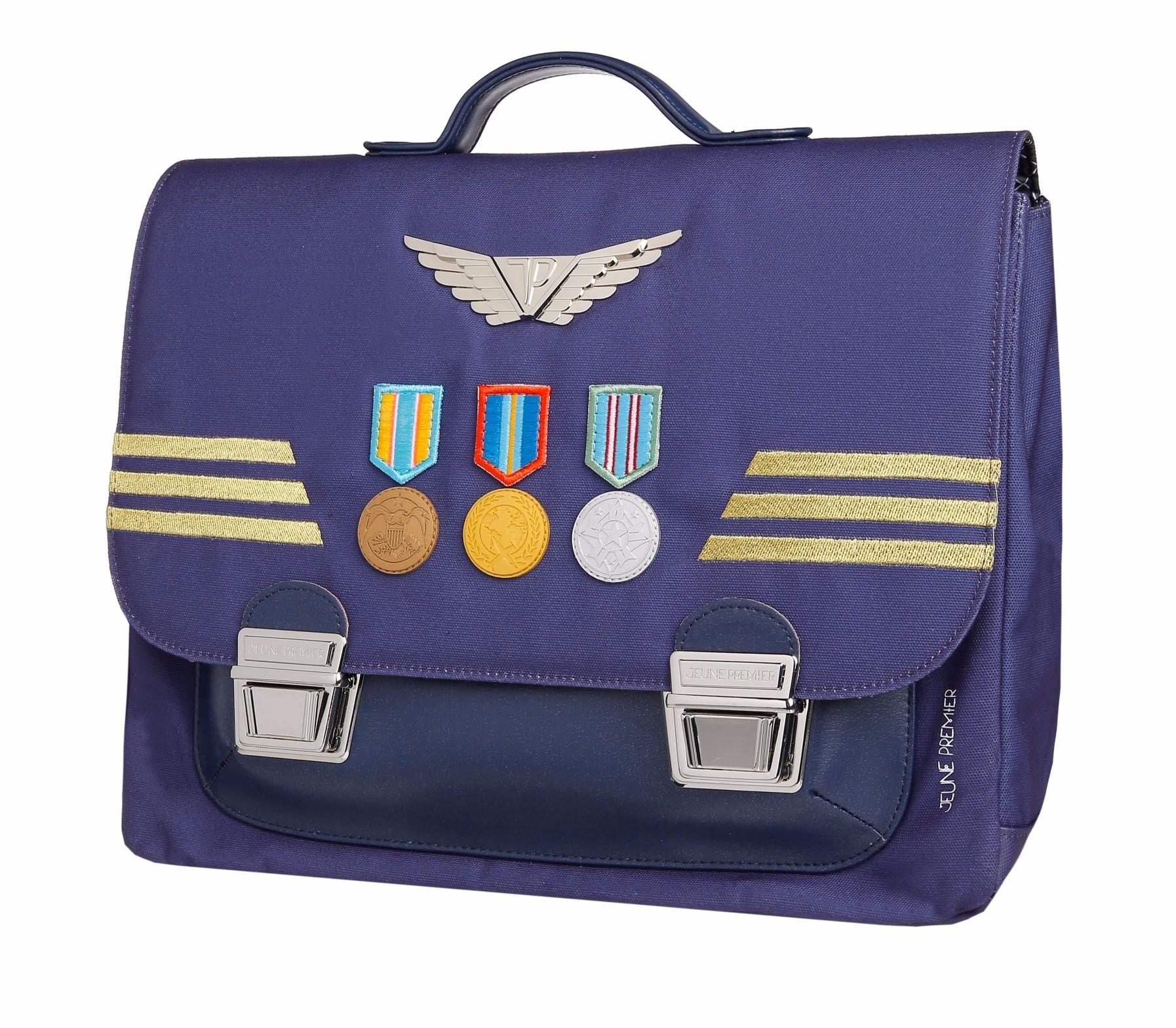 Школьный портфель для мальчика Jeune Premier Captain Midi Капитан, - фото 1
