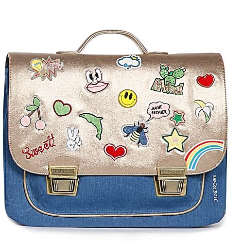 Школьный портфель для девочки Jeune Premier GOLDFUN Золото Midi