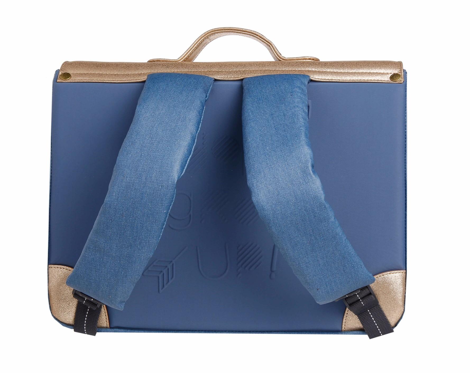 Школьный портфель для девочки Jeune Premier GOLDFUN Золото Midi, - фото 4