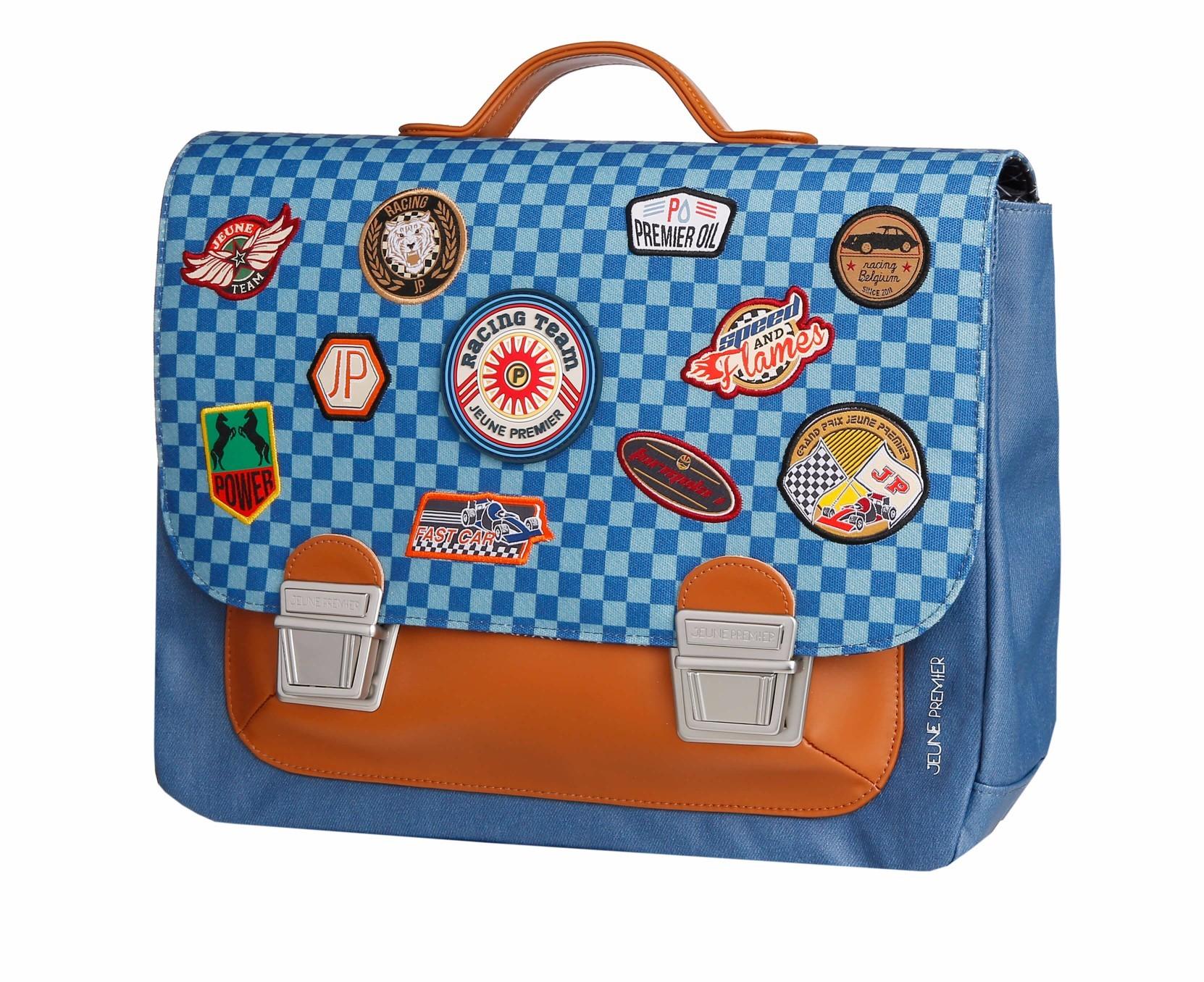 Школьный портфель для мальчика Jeune Premier Racing Midi Скорость, - фото 1