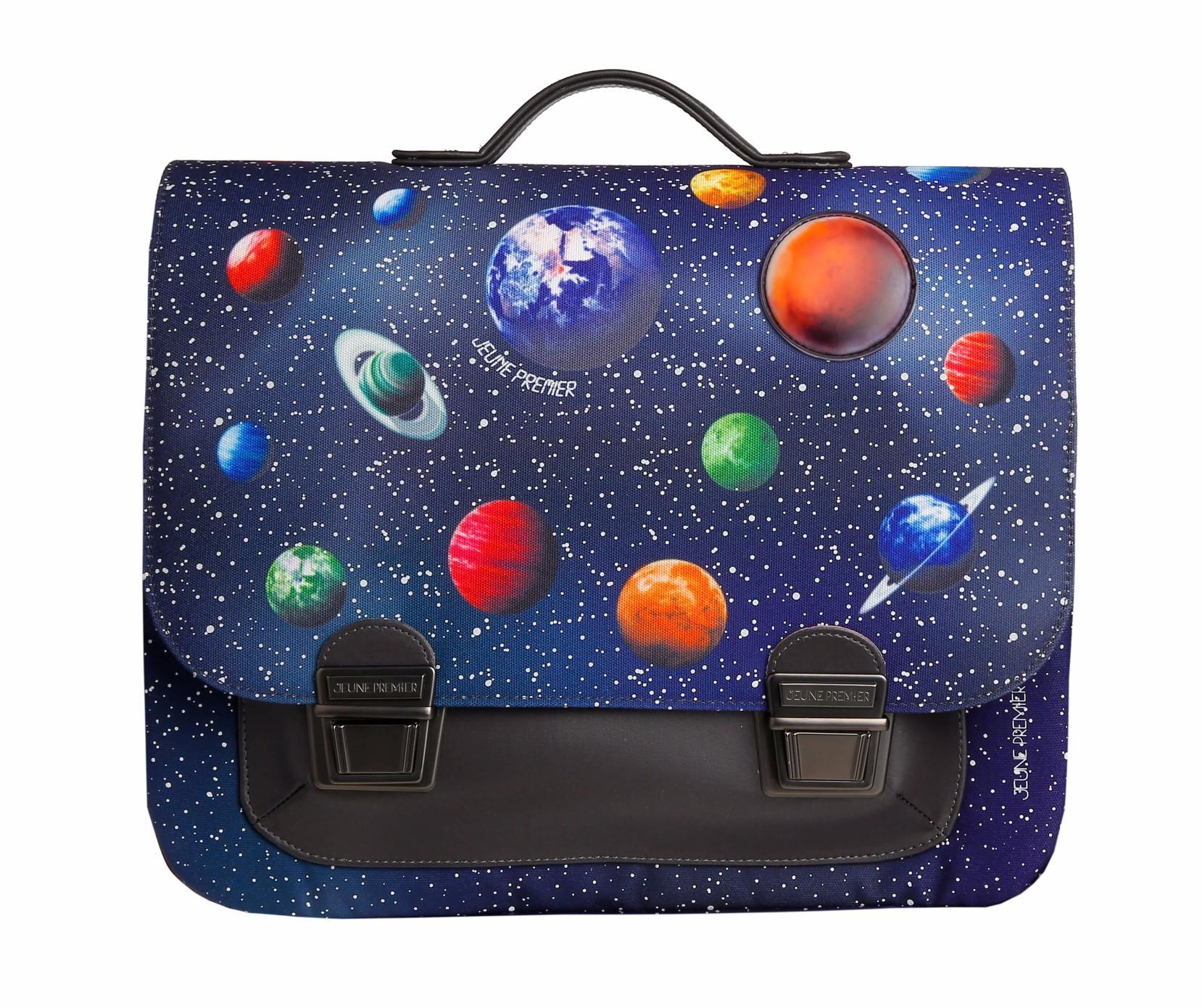 Школьный портфель для мальчика Jeune Premier Space Midi Космос, - фото 2