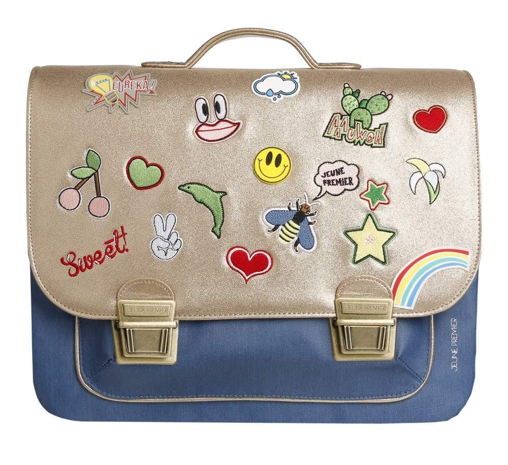 Школьный портфель для девочки Jeune Premier GOLDFUN Золото Maxi, - фото 2