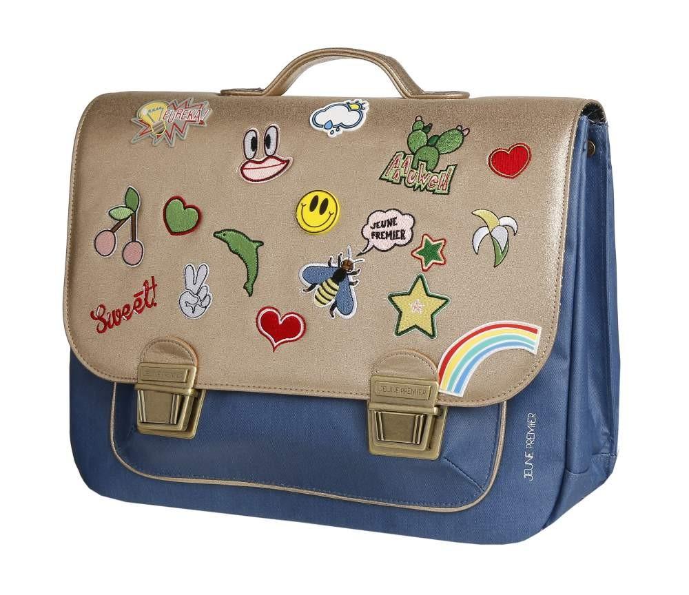Школьный портфель для девочки Jeune Premier GOLDFUN Золото Maxi, - фото 1