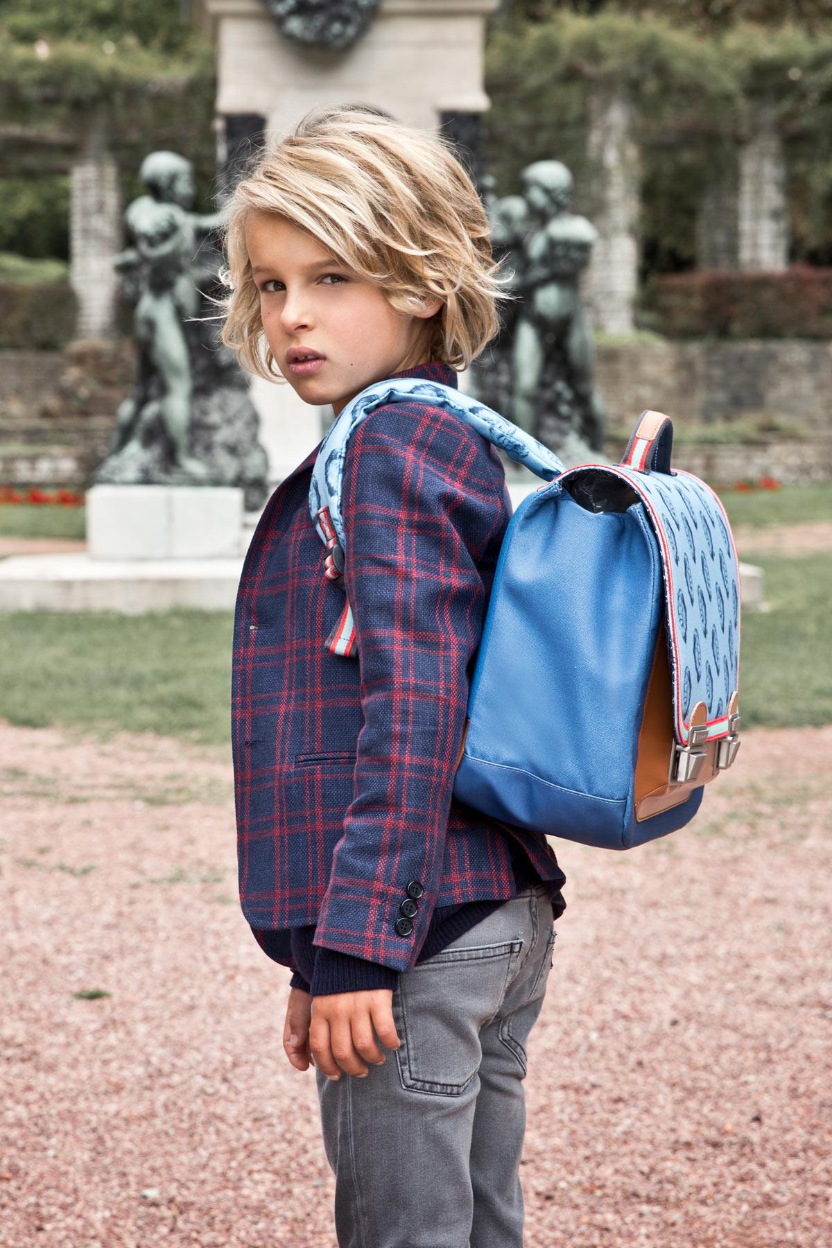 Школьный портфель для мальчика Jeune Premier Lion Midi Лев, - фото 4