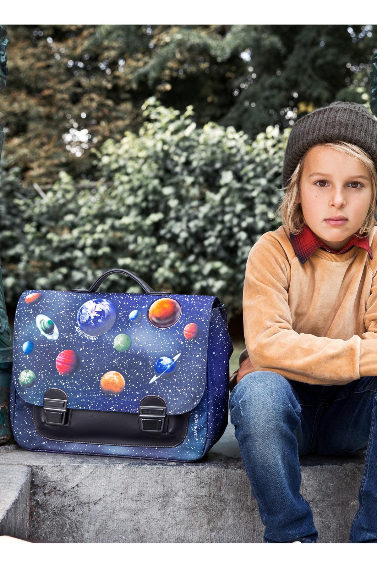 Школьный портфель для мальчика Jeune Premier Space Midi Космос, - фото 10