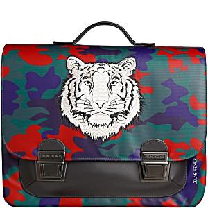 Школьный портфель для мальчика Jeune Premier Бенгальский Тигр Midi