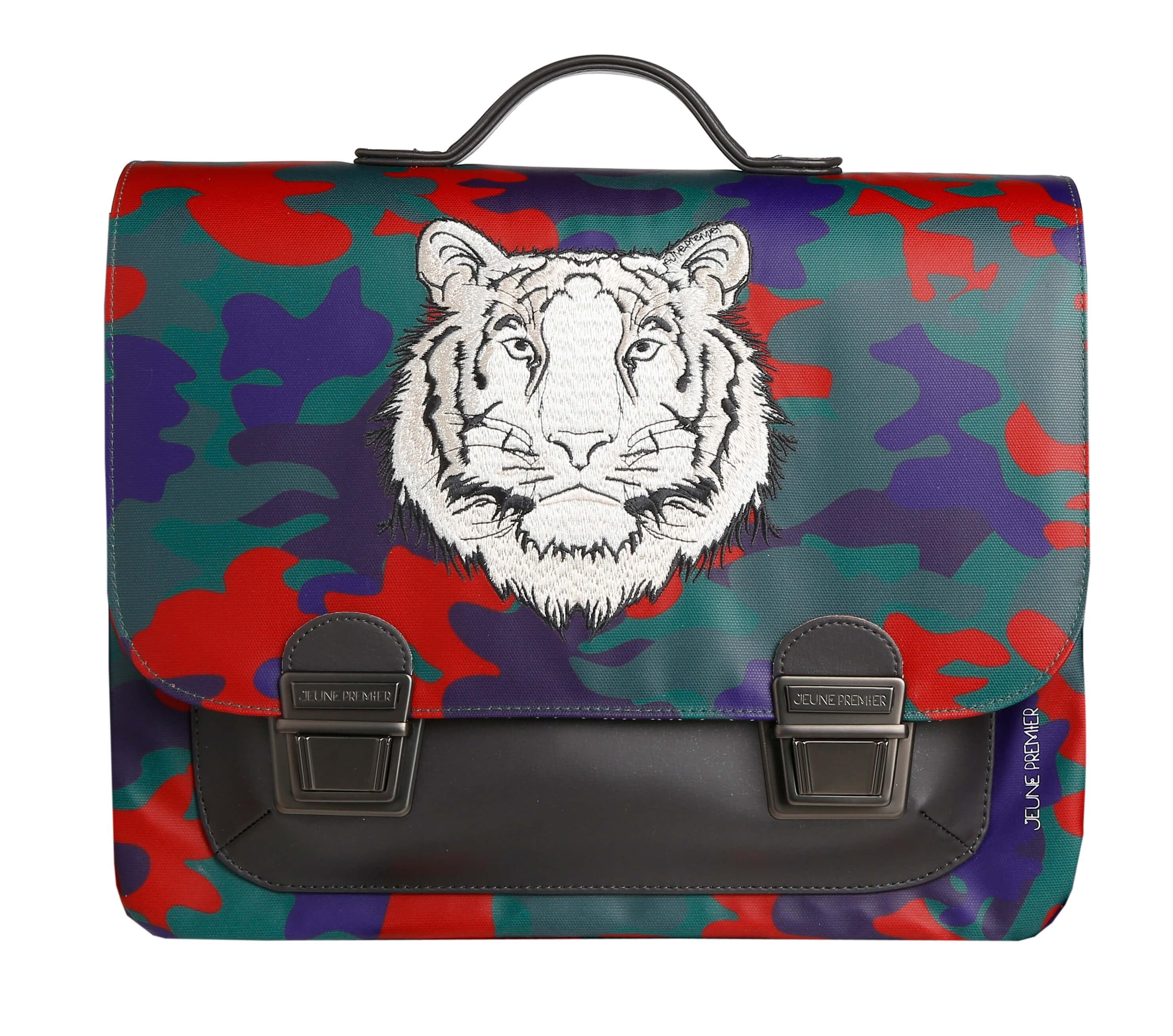 Школьный портфель для мальчика Jeune Premier Бенгальский Тигр Midi , - фото 1