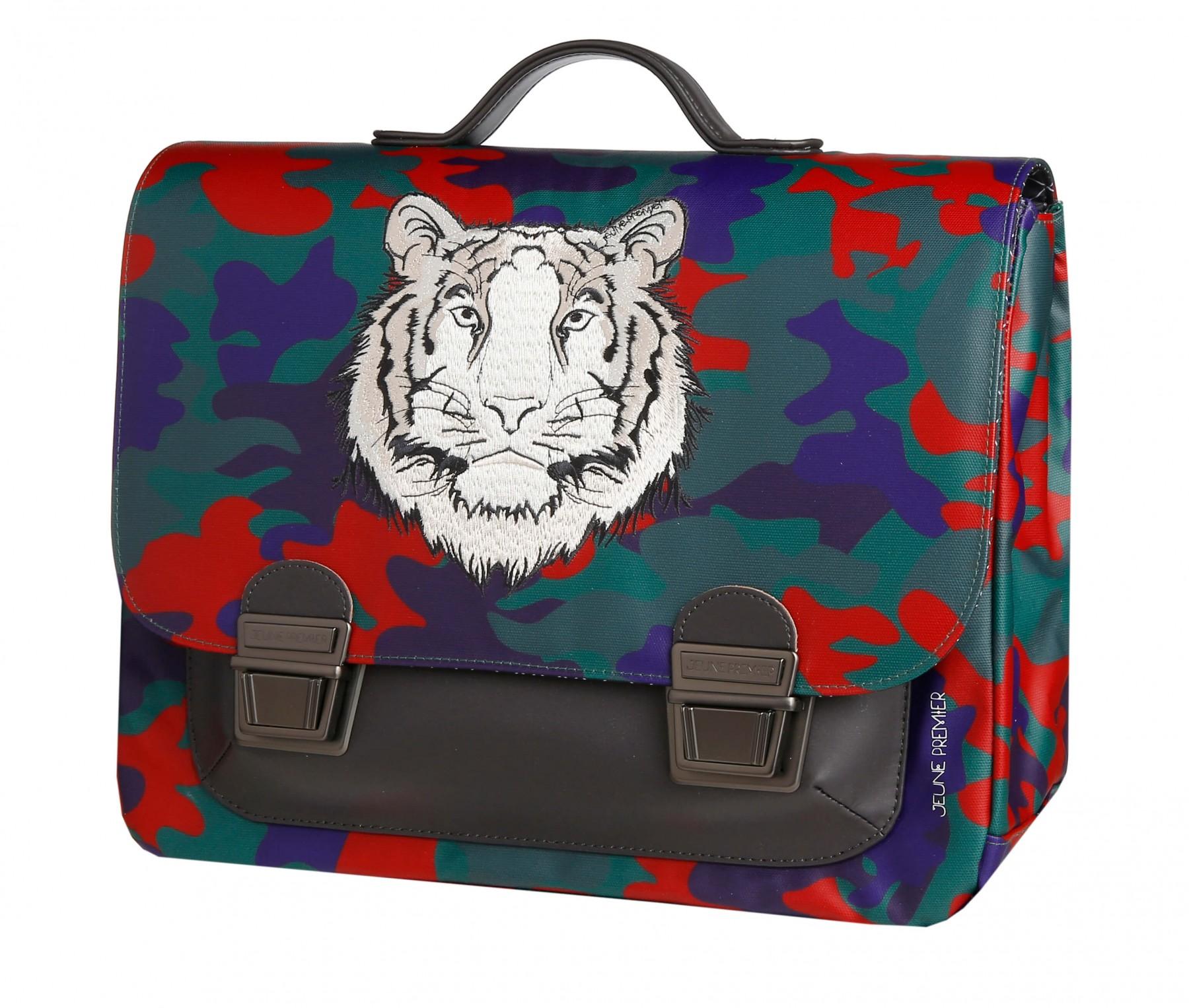 Школьный портфель для мальчика Jeune Premier Бенгальский Тигр Midi , - фото 2