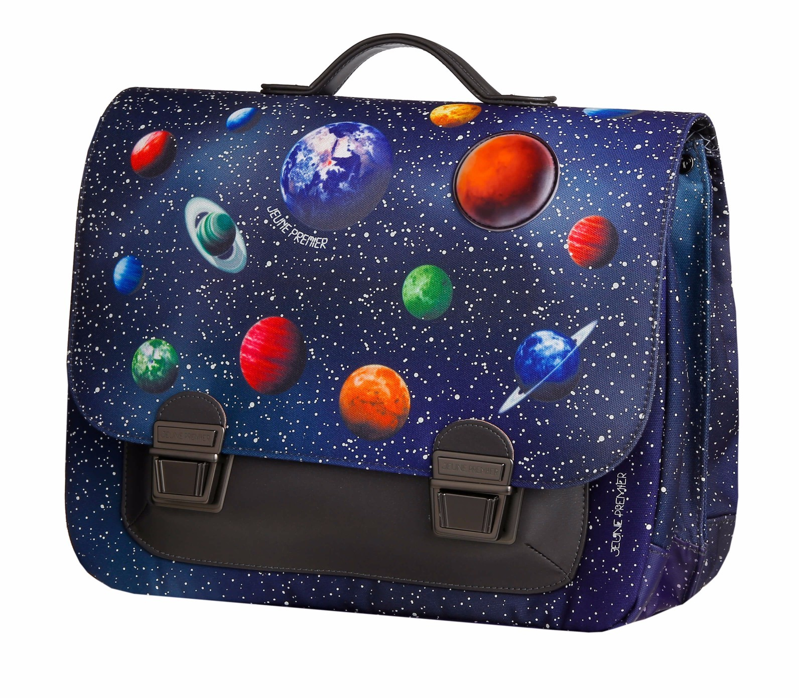 Школьный портфель для мальчика Jeune Premier Space Midi Космос, - фото 3