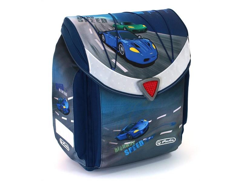 Школьный ранец Herlitz Flexi Plus SPEED без наполнения Скорость, - фото 1