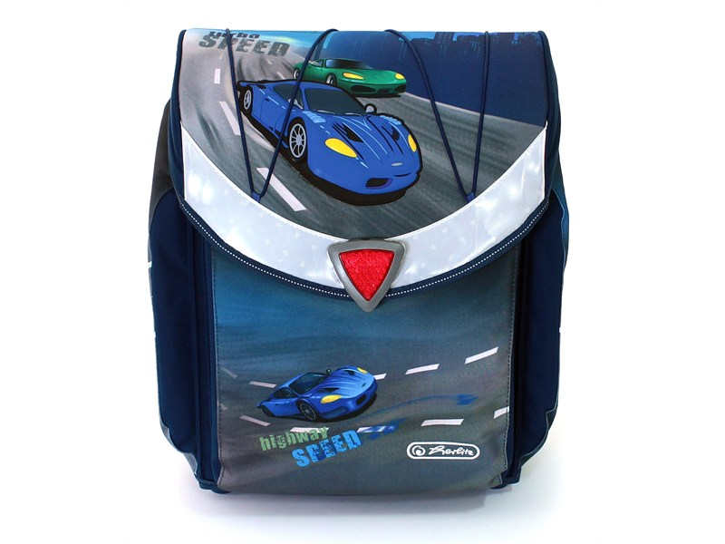 Школьный ранец Herlitz Flexi Plus SPEED без наполнения Скорость, - фото 2