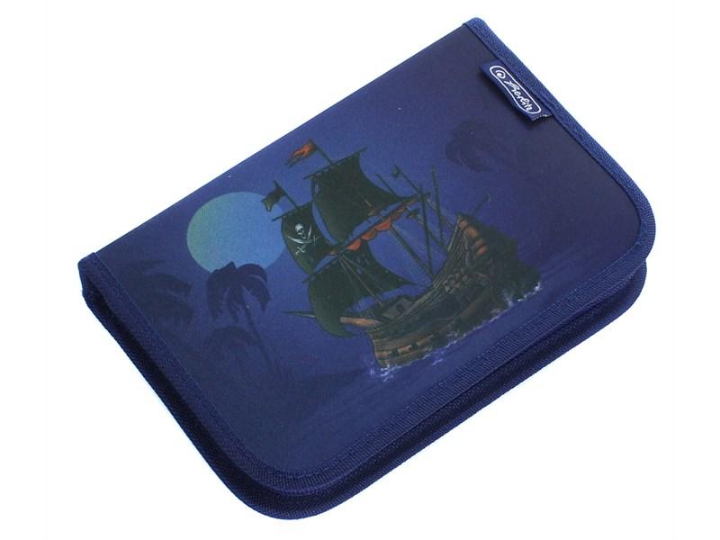 Пенал Херлиц с наполнением Пиратский Корабль 31 предмет, - фото 1