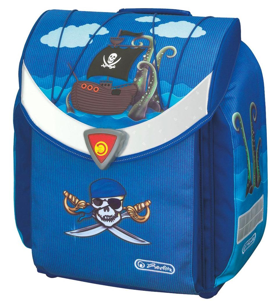 Школьный ранец Herlitz Flexi Plus PIRATE с наполнением Пират, - фото 2