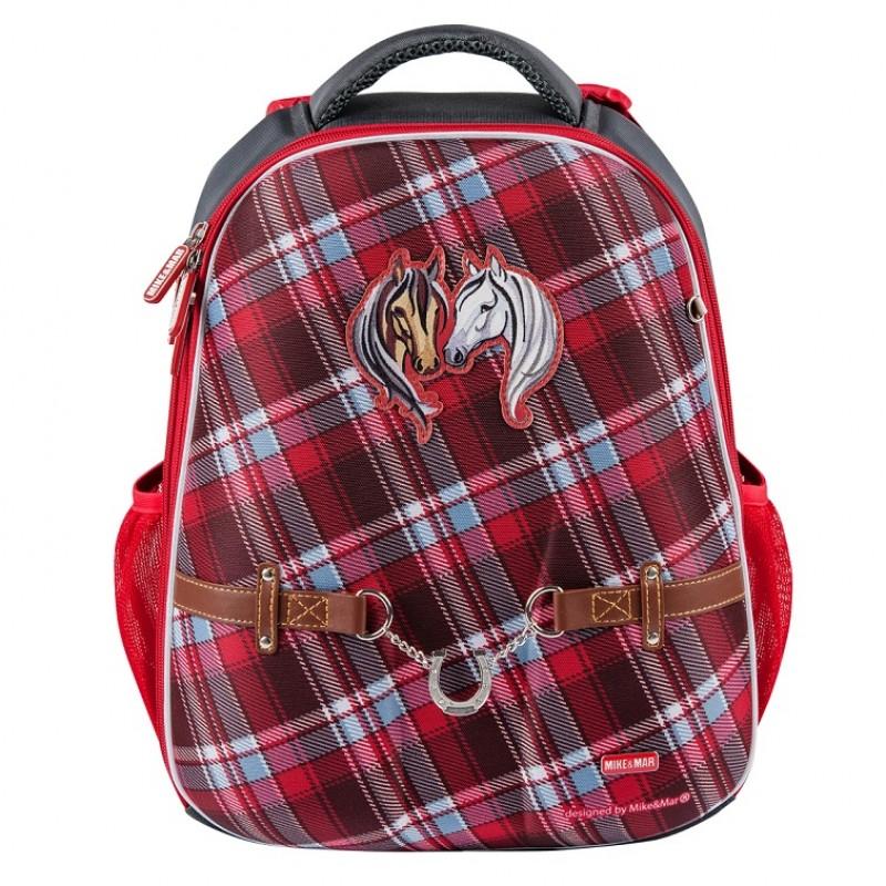 Школьный рюкзак OXFORD 1008-152 Оксфорд Лошадки, - фото 2