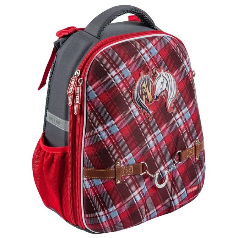 Школьный рюкзак OXFORD 1008-152 Оксфорд Лошадки, - фото 1