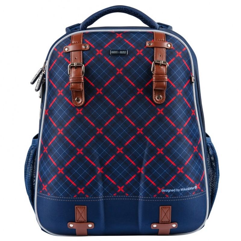 Школьный рюкзак OXFORD MIKE MAR 1008-161 синий + мешок, - фото 2