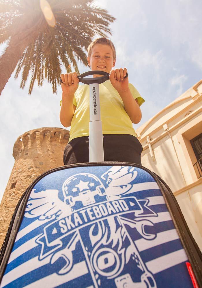 Рюкзак на колесах Nikidom SKATE Испания арт. 9018 (19 литров), - фото 11