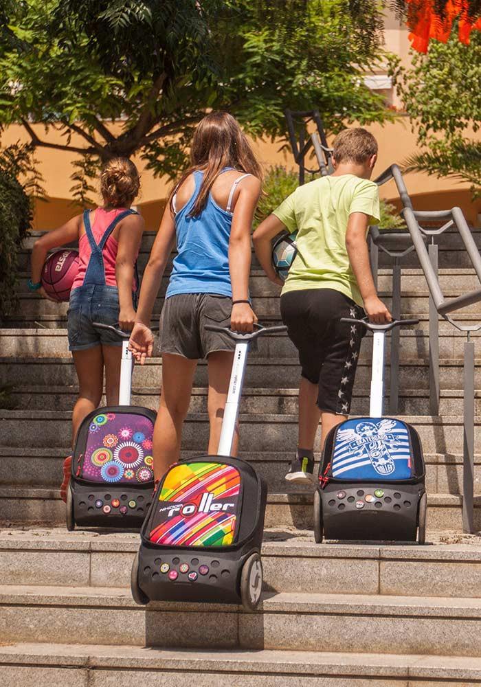 Рюкзак на колесах Nikidom SKATE Испания арт. 9018 (19 литров), - фото 12