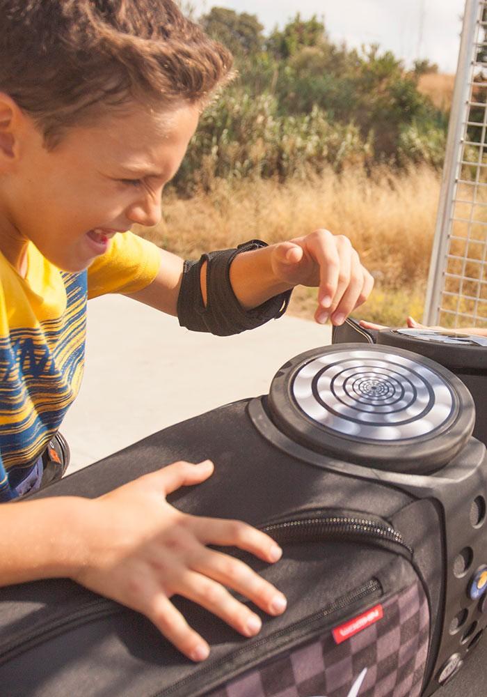 Рюкзак на колесах Nikidom SKATE Испания арт. 9018 (19 литров), - фото 13