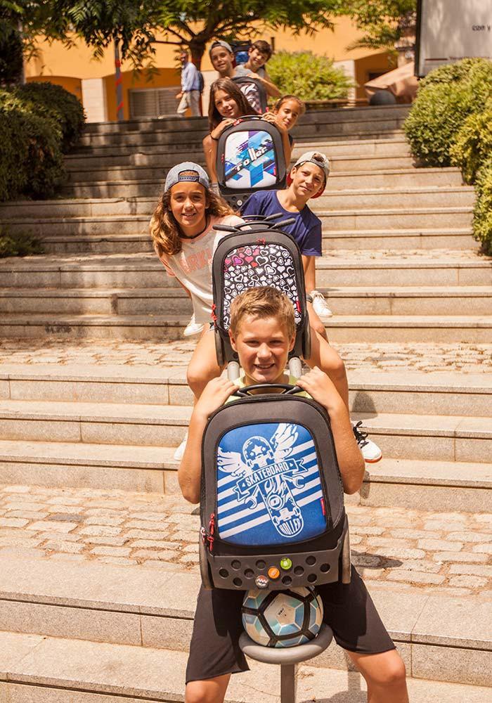 Рюкзак на колесах Nikidom SKATE Испания арт. 9018 (19 литров), - фото 14