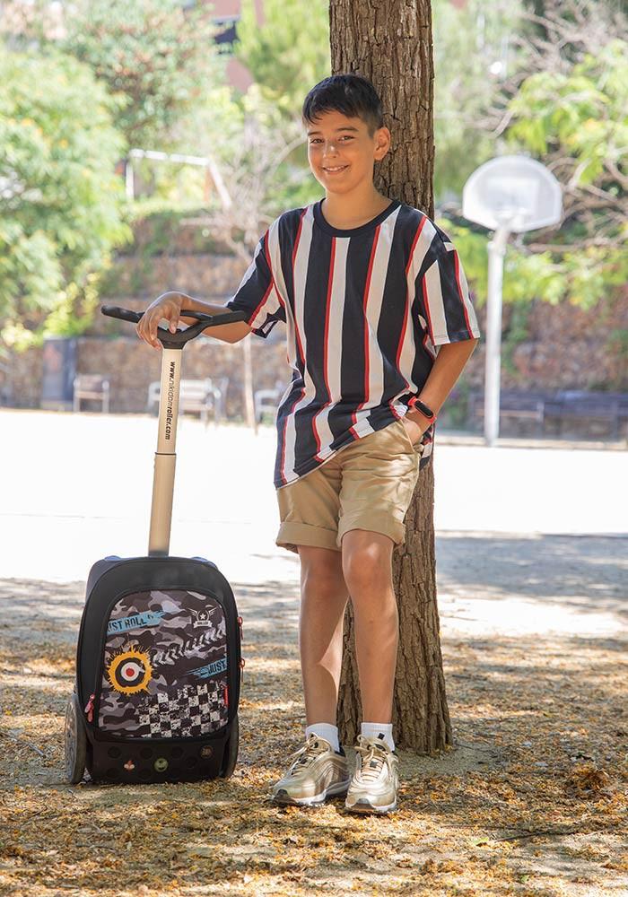 Рюкзак на колесиках Roller White Fire Nikidom Camo арт. 9024 (19 литров), - фото 12