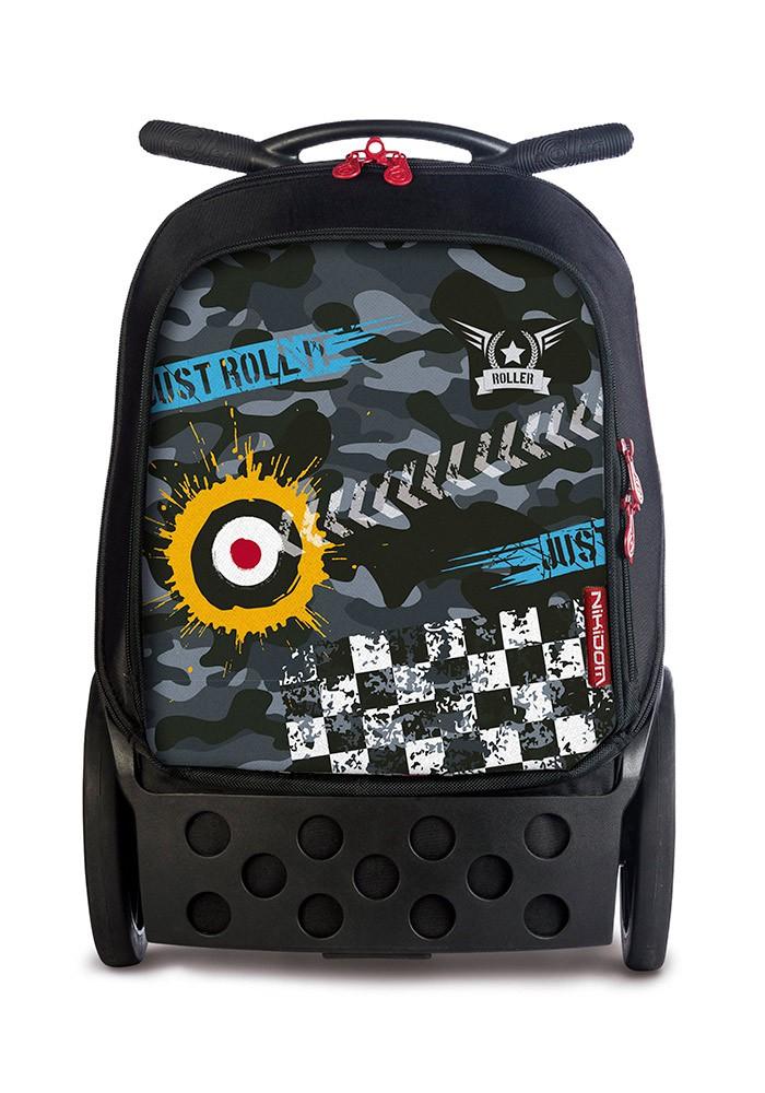 Рюкзак на колесиках Roller White Fire Nikidom Camo арт. 9024 (19 литров), - фото 1