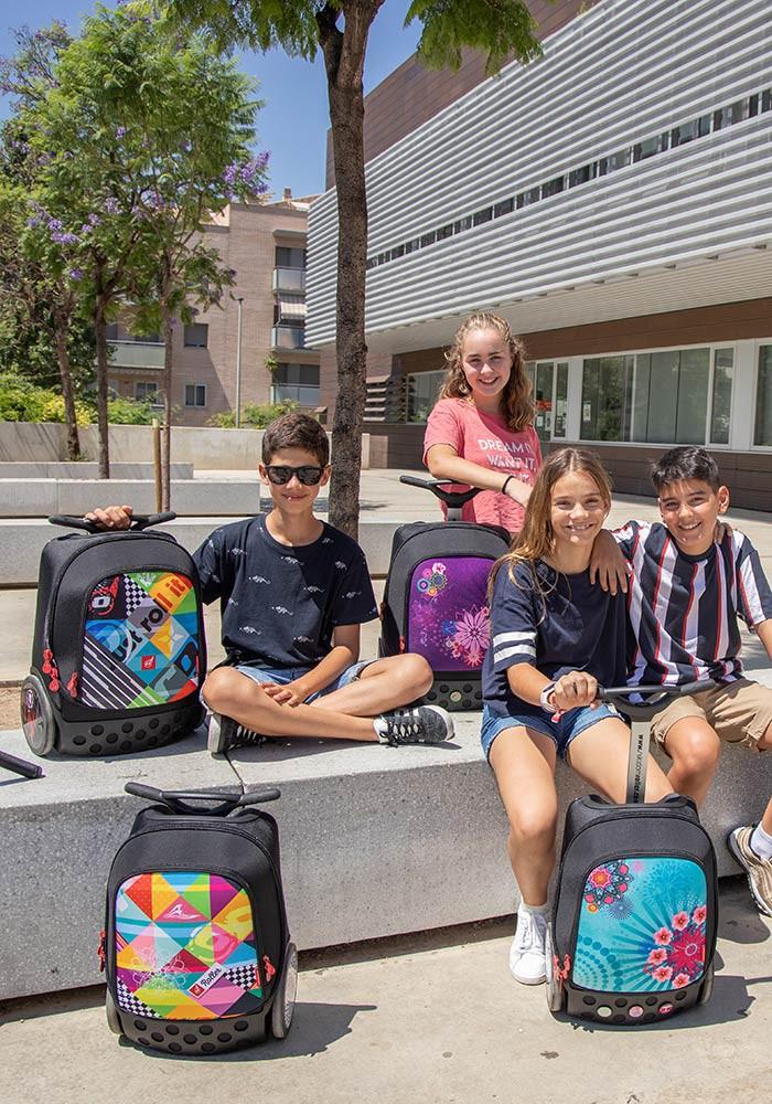 Рюкзак на колесах Nikidom Reef Испания  арт. 9322 (27 литров), - фото 13