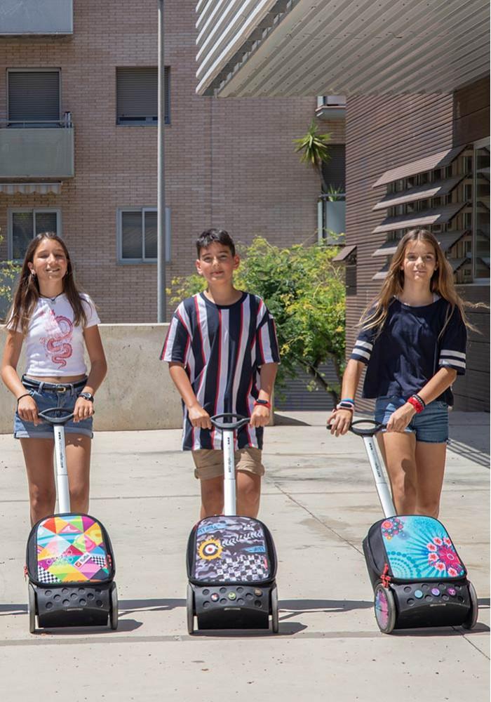 Рюкзак на колесах Nikidom XL Supergirl Испания арт. 9325 (27 литров), - фото 13